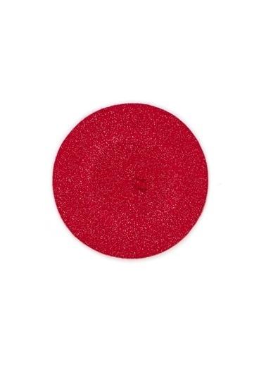 Mavi Kadın  Simli Şapka 196993-29788 Kırmızı